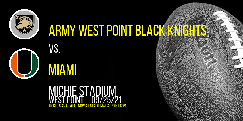 Army West Point Black Knights vs. Miami (OH) RedHawks at Michie Stadium